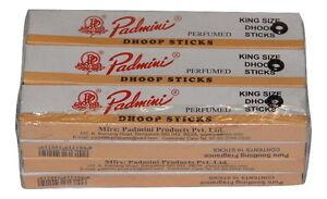 Padmini King Size Dhoop Sticks 10pcs  X 12 Packs