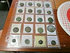Ancient 20 Coin Roman Empire Collection 18 BC-361 AD Dupondius & Larger Coins