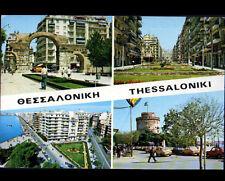 THESSALONIKI (GRECE) RESIDENCES & MONUMENTS animés en 1976