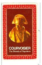 "Single Vintage Playing Card ""Courvoisier"" Napoleon Brandy"