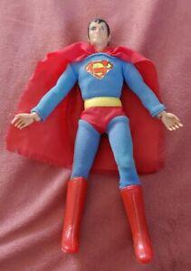 "Vintage 1970's Mego Superman WGSH 8"" Original Action Figure DC Rare"