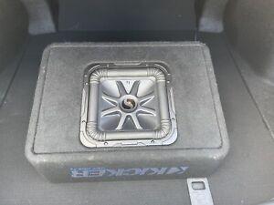 Kicker TL7S10 Car Audio L7 Subwoofer Loaded 10 Truck Sub Box Enclosure 44TL7S102