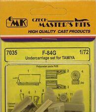 CMK 1/72 F-84G Undercarriage Set for Tamiya # 7035