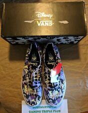 NEW VANS AUTHENTIC DISNEY VILLAINESS LOW TOP LACED (UNISEX M 10) HTF OOP