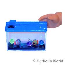 Toy Fish Tank for 18 Inch Doll - Aquarium Pet Fit American Girl Favorite Friends