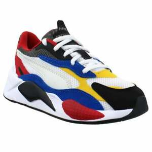 Puma Rs-X3 Puzzle Lace Up   Toddler Boys  Sneakers Shoes Casual   - White - Size
