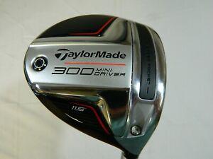 2021 Taylormade 300 Mini 11.5* Driver PX Hzrdus Smoke Blue RDX 60g 6.0 Stiff