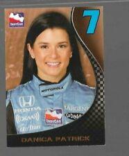 Danica Patrick P1 Promo card Rittenhouse 2008 Indy Racing card