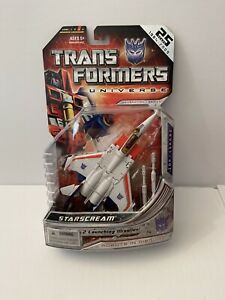 Transformers Universe 25th Starscream New