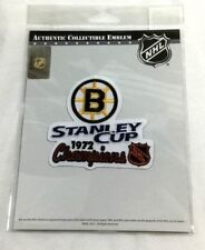 Official 1972 Stanley Cup Champions Boston Bruins Jersey Patch Bobby Orr Great