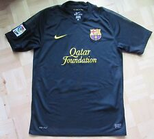 Barca 2011-2012 Nike FC Barcelona away Shirt jersey Blaugrana black/ADULT SIZE M