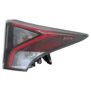FIT TOYOTA PRIUS 2016 RIGHT PASSENGER UPPER TAILLIGHT TAIL LIGHT REAR LAMP