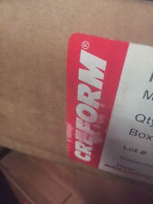 (Box of 75) H-2 CREFORM METAL JOINT COMPONENT FOR 28MM PIPE (NEW)