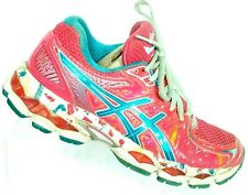 Asics Women's Gel Nimbus 16 NYC Pink Splatter Running Shoes Size 6.5 M