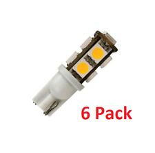New Bright White LED Replacement 921 Bulbs (6 Pack) for RV / Motorhome / Trailer