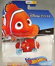 2018 Hot Wheels Disney Pixar Character Cars 3/6 NEMO Finding Nemo Trans Orange