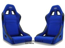 Fixed Back Race Seat SAAS MACH 2 Club Racing, Drift, Street ADR Approved Blue
