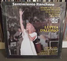 LUPITA DALESSIO D'Alessio Sentimiento ranchero JOSE ALFREDO LP SEALED NEW