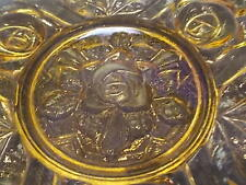 RARE 1933 Jobling Glass Art Deco Bowl Glasgow Rose Tudor Rose Motif RD 780718