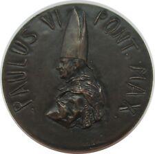 Vatican Pape PAUL VI, Médaille 1963 à 2 session du 2. Concile oecuménique