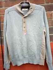 Penguin mens cashmere blend brown jumper size M medium