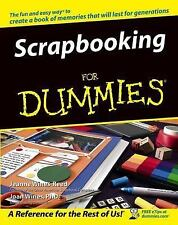 Scrapbooking for Dummies by Joan Wines and Jeanne Wines-Reed (2011, E-book)