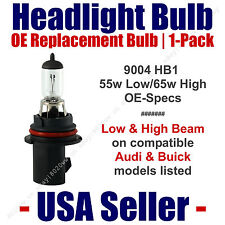 Headlight Bulb High/Low OE Replacement Fits Listed Audi & Buick Models - 9004