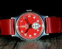 Pobeda ZIM Оlympiad 80s Moscow USSR Vintage soviet mechanical wrist mens watch