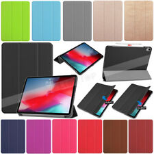 "For iPad 9.7'' 10.2' Pro 10.5"" 11'' 12.9"" Smart Leather Case Stand Slim Cover"