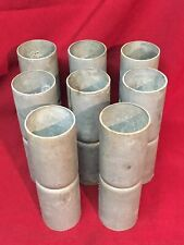 8 Used Chain Link Fence Top Rail Sleeves