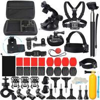Für GoPro Zubehör Set Bundle Hero7/6/5/4/3 Kamera Outdoor Sport Kit 58 in 1