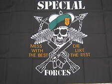 Army Surplus US Special Forces Flag NEW
