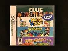 Clue, Mouse Trap, Perfection, Aggravation - Nintendo DS Game NDS DSi 3DS Rare