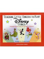 Teaching Little Fingers To Play Disney Tunes Learn EASY Songs Piano MUSIC BOOK