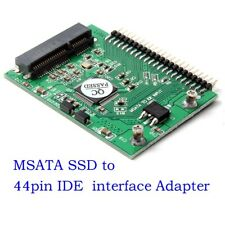 mSATA SSD to 44 Pin IDE Converter Adapter as 2.5 Inch IDE HDD 5 Volt For Laptop