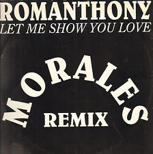 ROMANTHONY - Let Me Show You Love (Morales Remix) - 1994 - UMD 123 - Ita