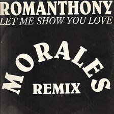 ROMANTHONY - Let Me Show You Love (Morales Remix) - 1994 - UMD 123 - Ita