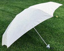 Raintec Cream & Black Mini Polka Dot Design Umbrella
