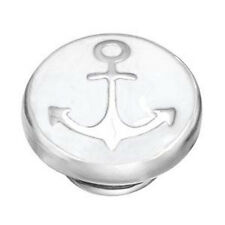 Kameleon JewelPop KJP105 Ahoy Matee White Anchor Sale Price $28.99 in White Gift