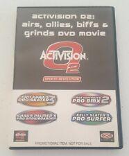 Activision 02, Airs, Ollies, Biffs & Grinds DVD Skating,Surfing,BMX,Snowboarder