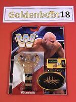 GOLDBERG WWE WWF MATTEL RETRO WRESTLING FIGURE NEW BOXED BNIB HASBRO