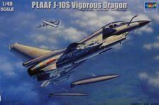 TRUMPETER® 02842 PLAAF J-10S Vigorous Dragon in 1:48