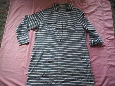 Linen Stripes Shirt Dresses for Women