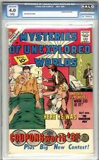 Mysteries Of Unexplored Worlds #24 - HALO Graded 4.0 (VG) 1961 - Silver Age