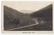 BOLTON PASS Eastern Townships Quebec Canada 1920-40s Real Photo Postcard