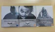 Batman Begins, The Dark Knight, The Dark Knight Rises Steelbook White Version