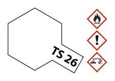Tamiya Acryl Sprühfarbe TS-26 Weiss glänzend 100ml - 85026