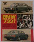 Test Drive Prova 1979 BMW 733i SERIE 7 E23