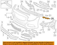 MERCEDES OEM 15-17 C300 Front Bumper-Side Bracket Right 2058852121
