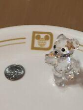 Swarovski mini Christmas standee. Angel Bear.